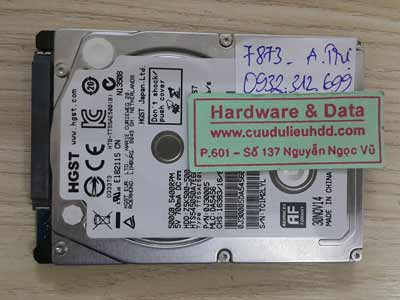 7873 Hitachi 500GB đầu từ lỗi