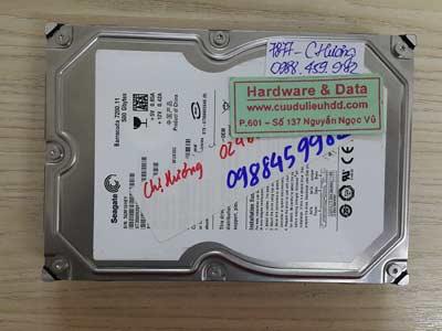 7877 Seagate 500GB lỗi đầu từ