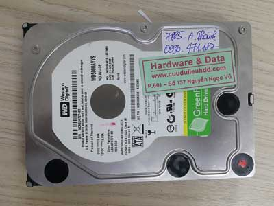 7885 Western 500GB cơ lạch cạch