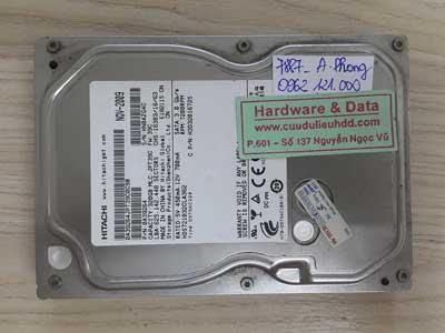 7887 Hitachi 320GB lỗi đầu từ