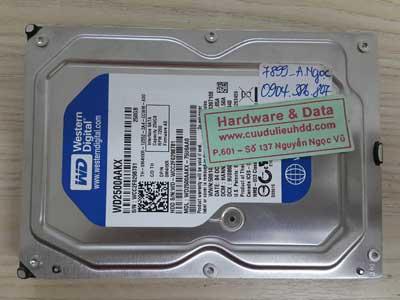7899 Western 250GB đầu từ lỗi