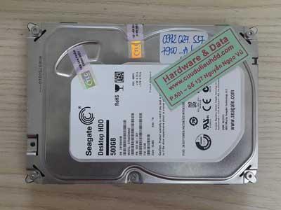 7900 Seagate 500GB bị bad nặng