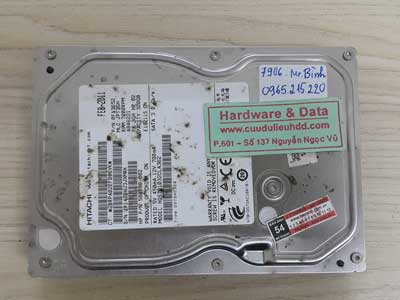 7906 Htachi 320GB format nhầm