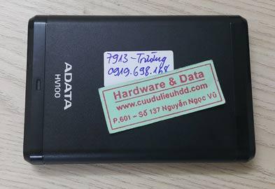 7913 Box ADATA 1TB mất dữ liệu