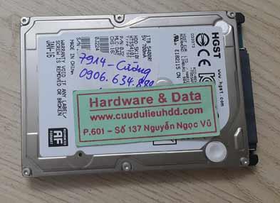 7914 Hitachi 1tb mất dữ liệu