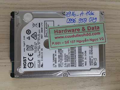 7916 Hitachi 1TB hỏng cơ