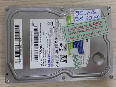 20-6 Seagate 500GB hỏng cơ
