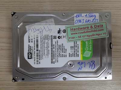 7921 Western 500GB chết cơ
