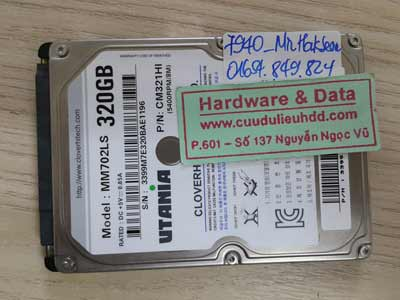 7940 Utania 320GB đầu từ lỗi