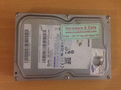 8-6 Western 160GB mất dữ liệu