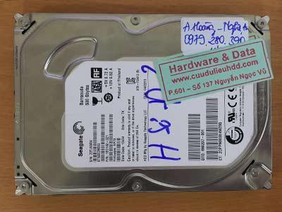 16-6 Seagate 500GB hỏng cơ