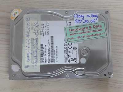 20-7 Toshiba 500GB chết cơ