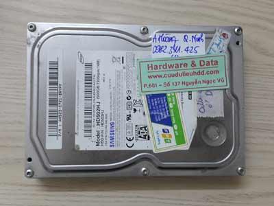 6 7 Samsung 500GB hỏng cơ
