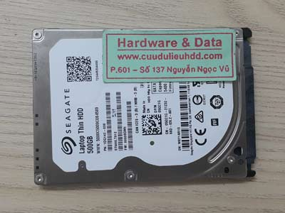 7-7 Seagate 500GB mất dữ liệu