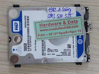 7982 Western 500GB bị rơi
