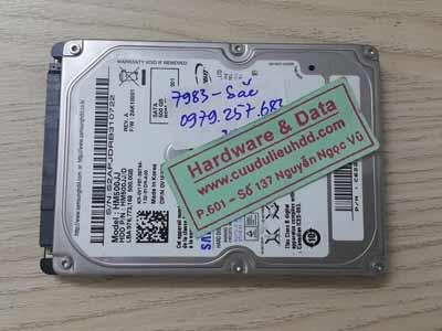 7983 Samsung 500GB hỏng cơ
