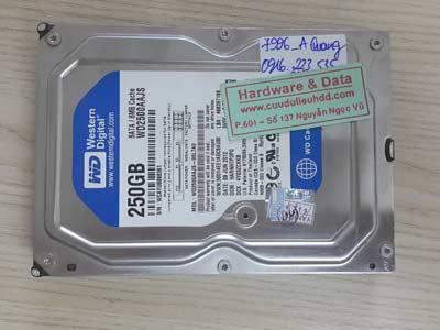 7996 Western 250GB format