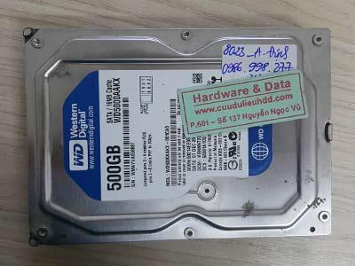 8023 Western 500GB chết cơ