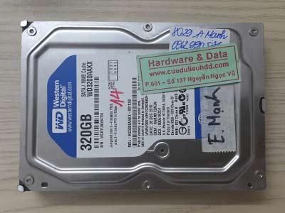 8029 Western 320GB đầu đọc lỗi