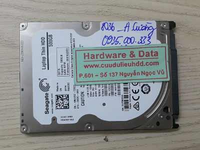 8036 Seagate 500GB chết cơ