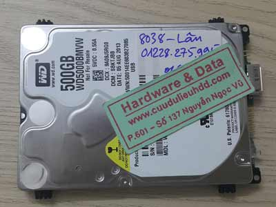 8038 Western 500GB Bad sector