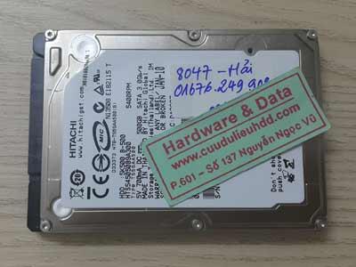 8047 hitachi 500GB cháy đầu đọc