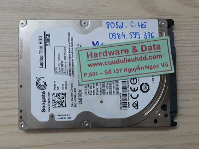 8052 Seagate 500GB bad sector