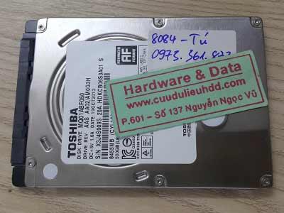 8084 toshiba 500GB chết cơ
