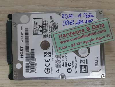 8087 Hitachi 500GB đầu từ lỗi
