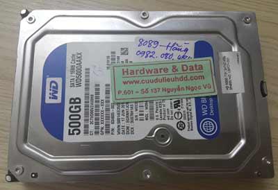8089 western 500GB chết cơ