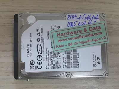 8107 Hitachi 500gb