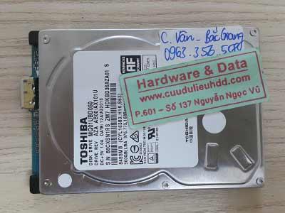 9 7 Toshiba 500GB hỏng cơ
