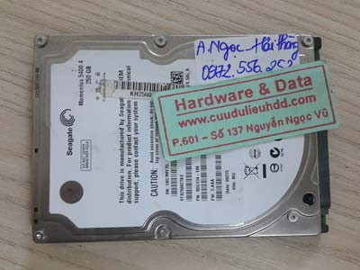 3-8 Seagate laptop 250GB