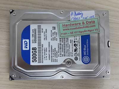 6-8 Western 500GB