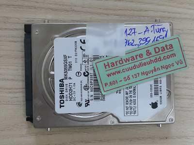 8127 Toshiba 500GB