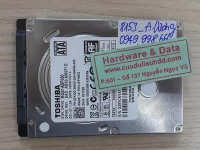 8153 Toshiba 500GB