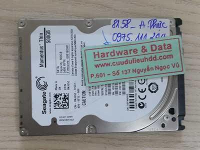 8158 Seagate 500GB