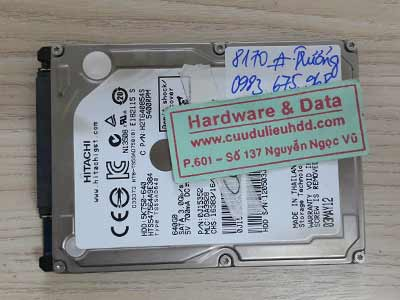 8170 Hitachi 640GB