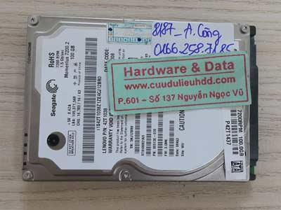 8187 Seagate 100GB