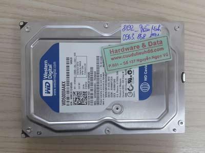8192 western 500GB