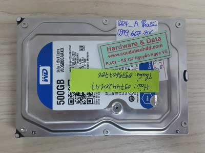 8224 Western 500GB