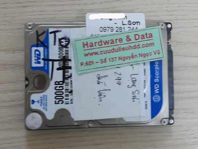 12-10 Western 500GB
