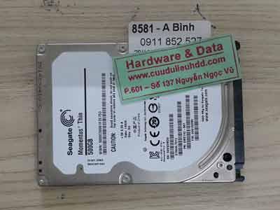 8581 Seagate 500GB