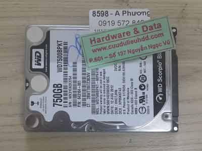 8598 Western 750GB