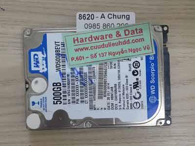 8620 Western 500GB