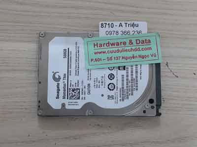 8710 Seagate 500GB