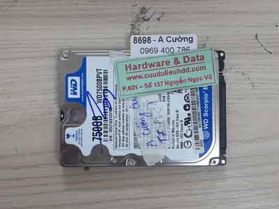 8698 Western 750GB