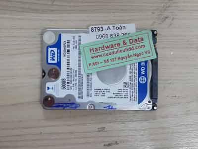 8793 Western 500GB