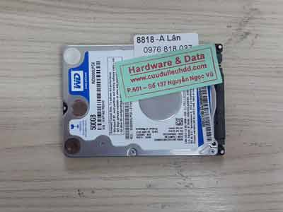 8818 Western 500GB