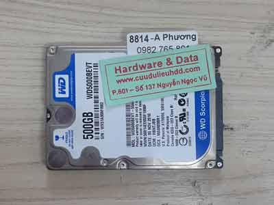 8814 Western 500GB